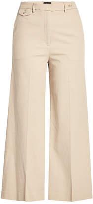 Theory Cropped Cotton Pants