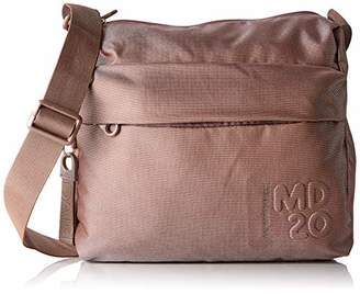 Mandarina Duck Women's Md20 Cross-Body Bag Beige/Taupe, 10x21x28.5 cm (B x H x T)