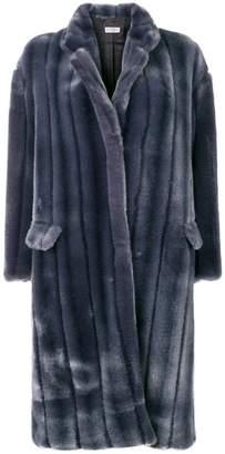 Alberto Biani faux-fur coat