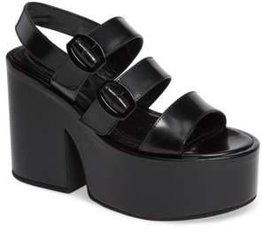 Simone Rocha Strappy Platform Sandal
