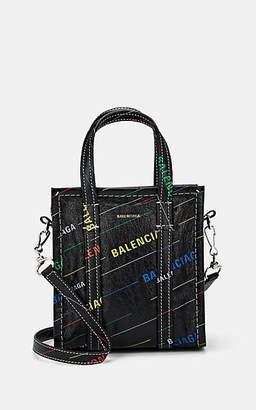 5aefc2a736e Balenciaga Women's Arena Leather Bazar Extra-Extra-Small Shopper Tote