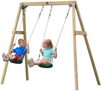 Plum Doppio Double Swing Set