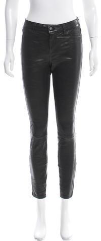 J BrandJ Brand Leather Skinny Pants