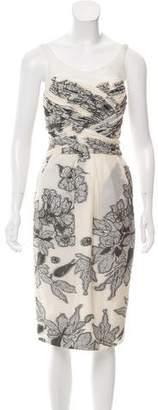 Jason Wu Floral Pattern Midi Dress