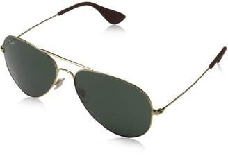 Ray-Ban 3558 Aviator Sunglasses, Non-Polarized