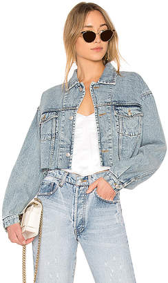 Miss Sixty Palmer Girls x Vintage Cropped Denim Jacket.