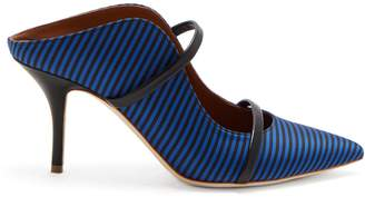 Malone Souliers X Emanuel Ungaro Maureen striped pumps