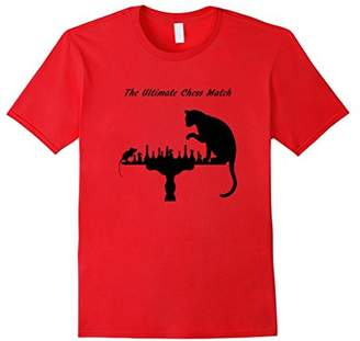 The Ultimate Chess Match Cat and Mouse T-Shirt