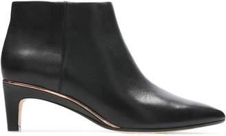 Clarks Ellis Eden Leather Dress Booties