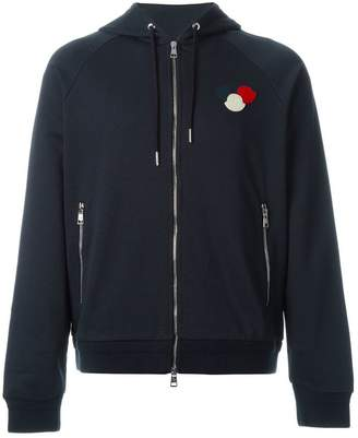 Moncler logo plaque hoodie