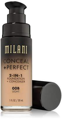 Milani Cosmetics (6 Pack Conceal + Perfect 2-In-1 Foundation + Concealer - Light Tan