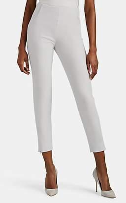Giorgio Armani Women's Stretch-Wool Slim Trousers - Gray