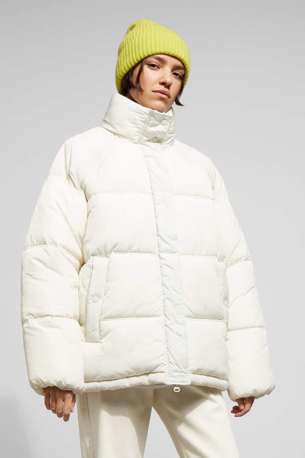 Felicity Padded Jacket - Beige