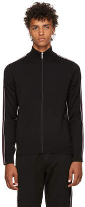 Prada Black Wool Track Jacket