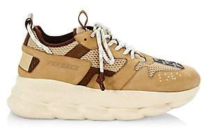 Versace Men's Chain Reaction Chunky Sneakers