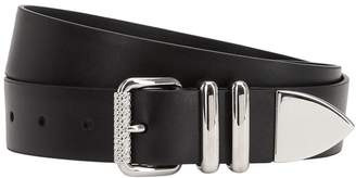 Prada 30mm Leather Belt