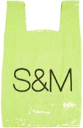 Ashish S & M sequin-embellished cotton bag