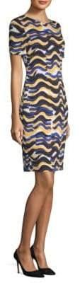BOSS Wave-Print Dress