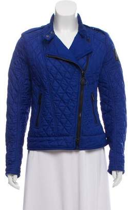 Belstaff Asymmetrical Quilted Jacket