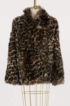 32 Paradis Sprung Frères Moto short fur coat
