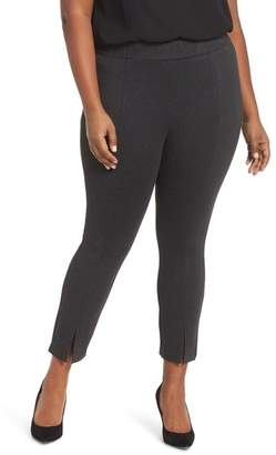 55f9d652475 Sejour Slit Hem Ankle Leggings (Plus Size)