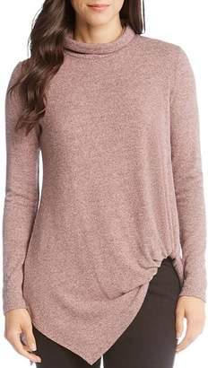 Karen Kane Asymmetric Turtleneck Top