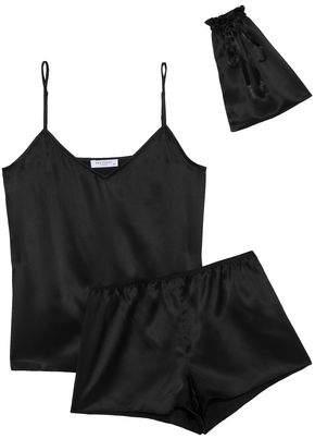 Equipment Alexy Silk-Satin Pajama Set