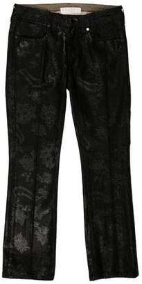 Stella McCartney Printed Low-Rise Jean