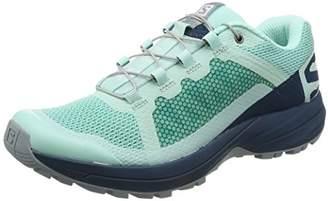 sale retailer 42d90 6aa0a adidas Womens Xa Elevate Trail Running Shoes, Green grün