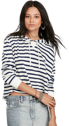 Ralph Lauren Denim & Supply Cropped French Terry Hoodie $98.50 thestylecure.com