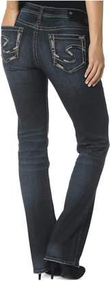 Silver Jeans Aiko Bootcut Dark Blue Wash Jeans