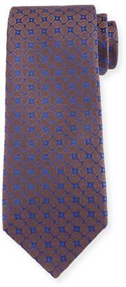 Charvet Clover Paisley Silk Tie