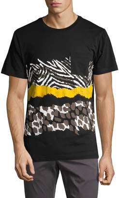 Wesc Men's Maxwell Animal Print T-Shirt