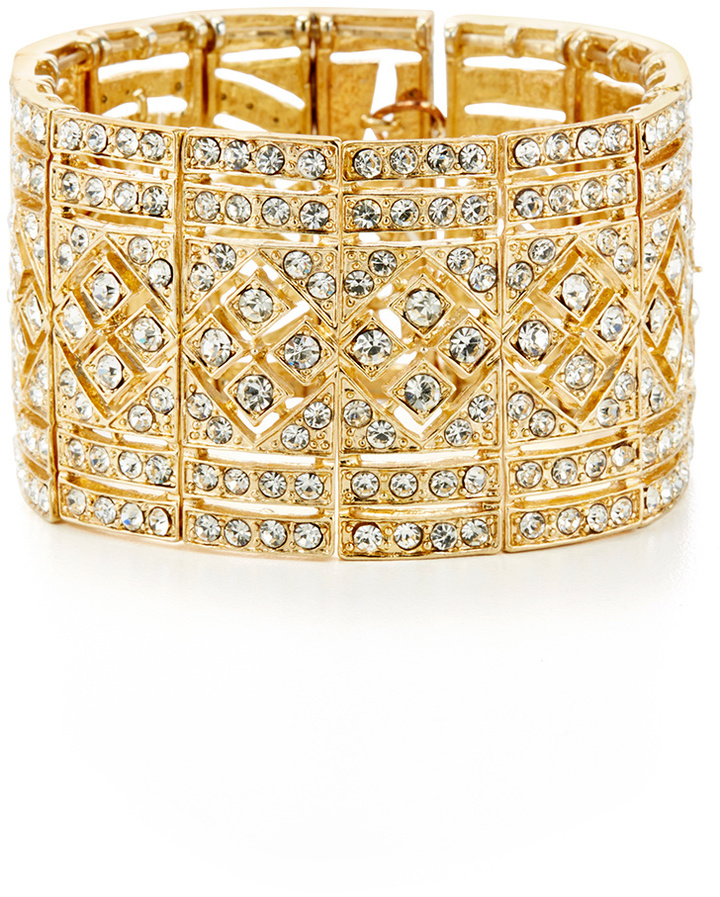 Cara Accessories Gold Dress Me Up Bracelet