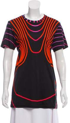 Christopher Kane Digital Print Short Sleeve T-Shirt