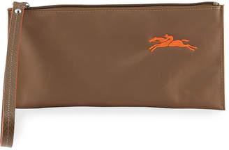 Longchamp Canvas Wristlet Wallet