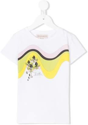 Emilio Pucci Junior printed T-shirt