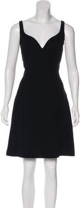 Balenciaga A-Line Midi Dress