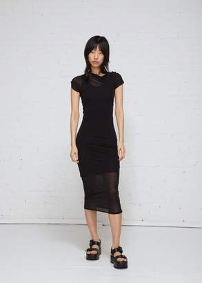 Ann Demeulemeester One Shoulder Ruched Dress