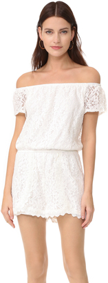 BB Dakota Jack by BB Dakota Lace Romper $85 thestylecure.com