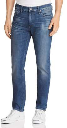 Paige Lennox Skinny Fit Jeans in Oil Well