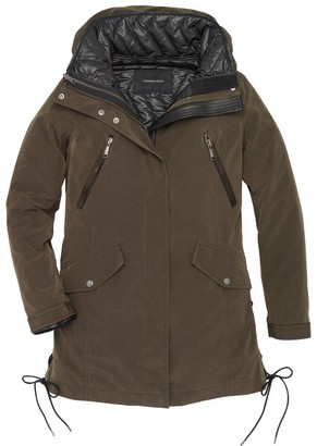 Andrew Marc Final Sale GRAYCE 3 IN 1 RAIN JACKET