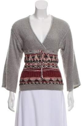 Missoni Medium-Weight Metallic Cashmere Sweater