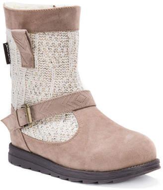 Muk Luks Gina Womens Water Resistant Winter Boots