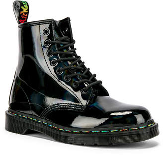 Dr. Martens 1460 Rainbow Boot in Black | FWRD