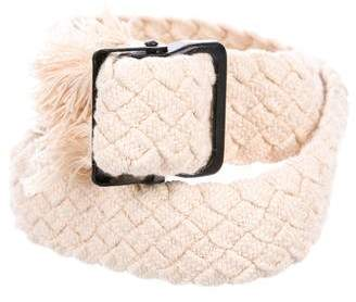 Isabel Marant Braided Buckle Belt