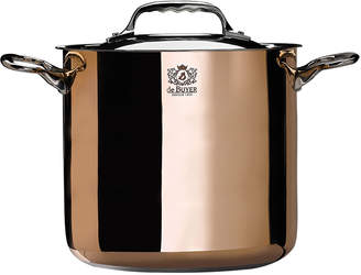 Debuyer De Buyer de Buyer Prima Matera Copper Stockpot with Lid
