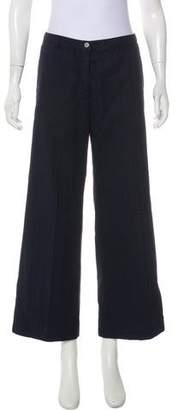 Dries Van Noten Mid-Rise Wide-Leg Pants