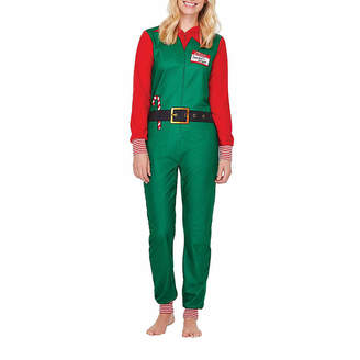 11d06afedc Co North Pole Trading Elf Family Pajamas-Women s