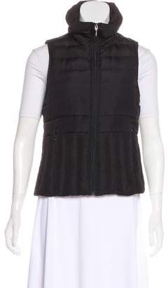Kenneth Cole Zip-Up Puffer Vest